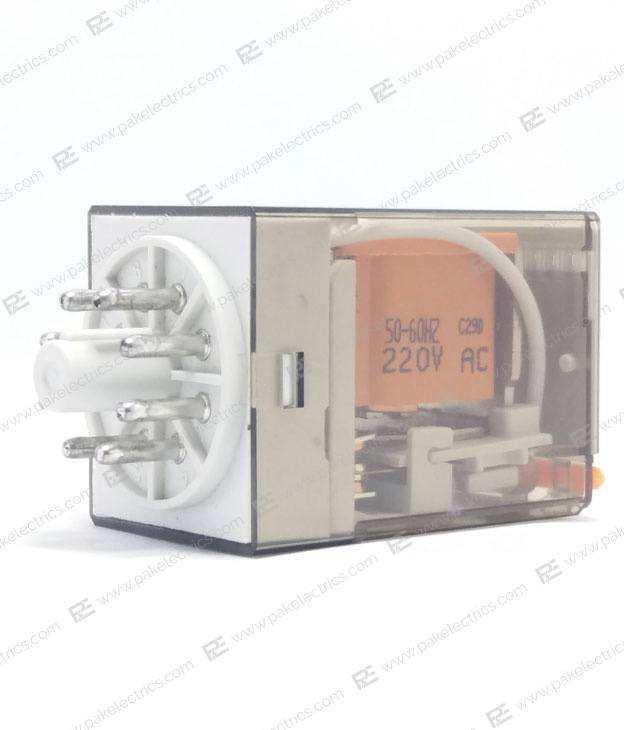Finder 12VAC 12VDC 24VAC 24VDC 110AC 220V Relay (8-Pin) (Finder)