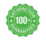 100% customers satisfaction